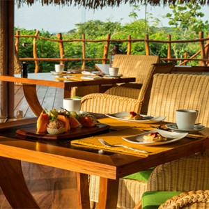 Uga Chena Huts Yala - Luxury Sri Lanka Honeymoon packages - Basses restaurant