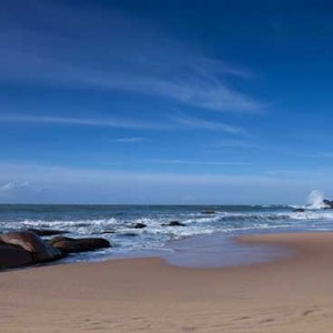 Uga Chena Huts Yala - Luxury Sri Lanka Honeymoon packages - beach