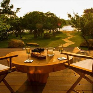 Uga Chena Huts Yala - Luxury Sri Lanka Honeymoon packages - ocean view