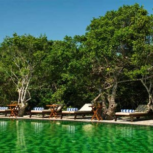 Uga Chena Huts Yala - Luxury Sri Lanka Honeymoon packages - resort pool1