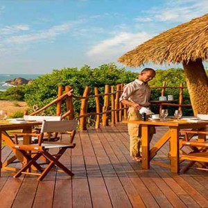 Uga Chena Huts Yala - Luxury Sri Lanka Honeymoon packages - restaurant
