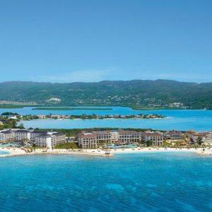 Jamaica Honeymoon Packages Secrets St James Montego Bay Aerial View