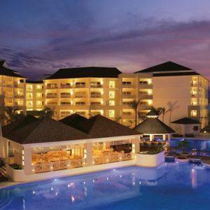 Jamaica Honeymoon Packages Secrets St James Montego Bay Pool At Night