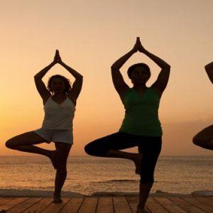Jamaica Honeymoon Packages Secrets St James Montego Bay Yoga At Sunset