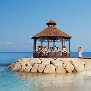 Jamaica Honeymoon Packages Secrets St James Montego Bay Wedding Couple Gazebo1
