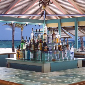 sea breeze bar - nisbet plantation beach club - luxury st kitts and nevis honeymoon packages