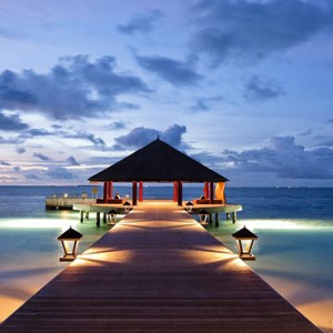 Angsana Ihuru Island - Luxury Maldives Honeymoon Packages - Jetty view