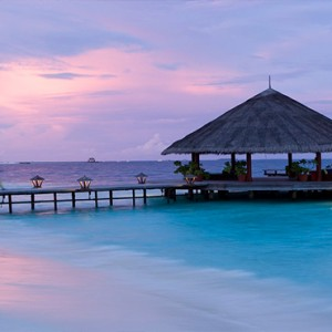 Angsana Ihuru Island - Luxury Maldives Honeymoon Packages - jetty