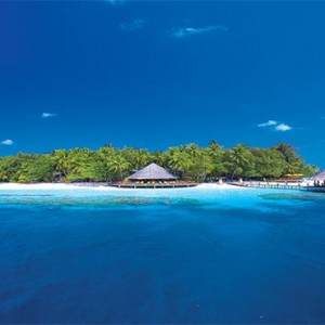 Angsana Ihuru Island - Luxury Maldives Honeymoon Packages - resort view