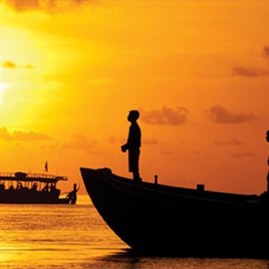 Angsana Ihuru Island - Luxury Maldives Honeymoon Packages -sunset