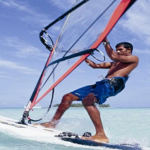 Angsana Ihuru Island - Luxury Maldives Honeymoon Packages - windsurfing