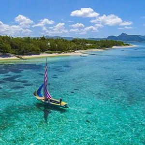 Astroea beach - Luxury Mauritius Honeymoon Packages - Aerial view