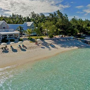 Astroea beach - Luxury Mauritius Honeymoon Packages - Aerial view of the resort