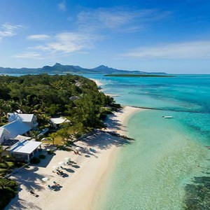 Astroea beach - Luxury Mauritius Honeymoon Packages - Aerial view1