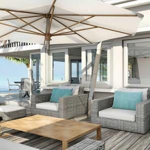 Astroea beach - Luxury Mauritius Honeymoon Packages - restaurant