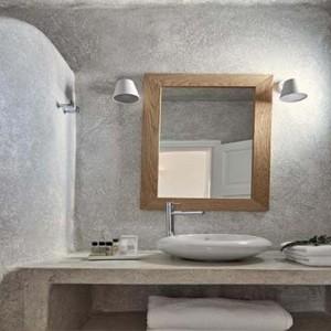 Cliff Side Suites Santorini - Luxury Greece Honeymoon Packages - bathroom