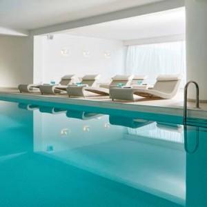 Cliff Side Suites Santorini - Luxury Greece Honeymoon Packages - spa