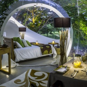 Double Bedroom Suite - Bubble Lodge Mauritius - Luxury Mauritius Honeymoon Packages
