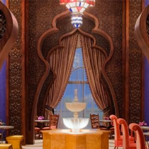 Dubai Honeymoon Packages Jumeirah Zabeel Saray Al Nafoorah Restaurant