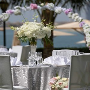 Dubai Honeymoon Packages Jumeirah Zabeel Saray Beach Wedding Reception