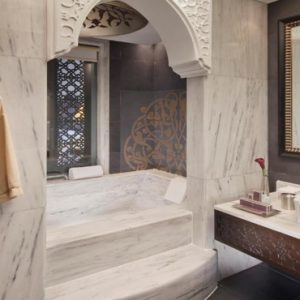 Dubai Honeymoon Packages Jumeirah Zabeel Saray Deluxe King Arabian Sea View Bathroom