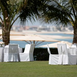 Dubai Honeymoon Packages Jumeirah Zabeel Saray Garden Wedding Reception