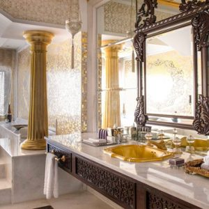 Dubai Honeymoon Packages Jumeirah Zabeel Saray Grand Imperial Suite Bathroom 1