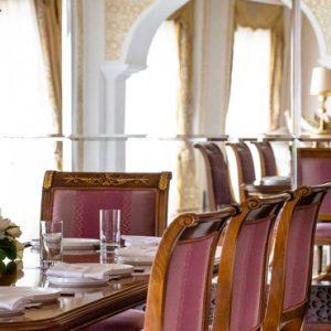 Dubai Honeymoon Packages Jumeirah Zabeel Saray Grand Imperial Suite Dining Room 1