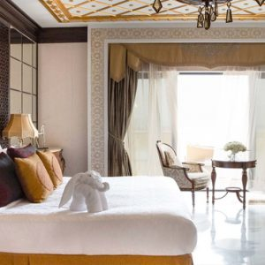 Dubai Honeymoon Packages Jumeirah Zabeel Saray Grand Imperial Suite Bedroom 1