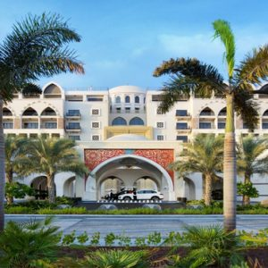 Dubai Honeymoon Packages Jumeirah Zabeel Saray Hotel Exterior