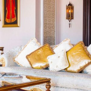Dubai Honeymoon Packages Jumeirah Zabeel Saray Imperial One Bedroom Suite Living Room