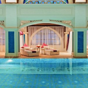 Dubai Honeymoon Packages Jumeirah Zabeel Saray Pool2