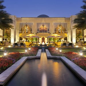Dubai Honeymoon Packages One&Only Royal Mirage Hotel Exterior At Night
