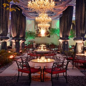 Dubai Honeymoon Packages One&Only Royal Mirage Ramadan Cafe Palace Courtyard