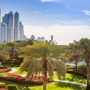 Dubai Honeymoon Packages One&Only Royal Mirage Skyline Garden View