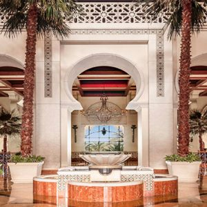 Dubai Honeymoon Packages One&Only Royal Mirage Lobby