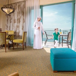 Executive Club Suite 2- Atlantis The Palm dubai - Luxury dubai honeymoon packages