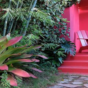 Golden Rock Inn - Luxury Nevis Honeymoon Packages - Coco walk exterior