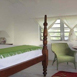 Golden Rock Inn - Luxury Nevis Honeymoon Packages - Coco walk interior