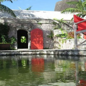 Golden Rock Inn - Luxury Nevis Honeymoon Packages - Fresh water swimming pool