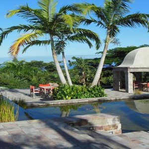 Golden Rock Inn - Luxury Nevis Honeymoon Packages - Pool with a view
