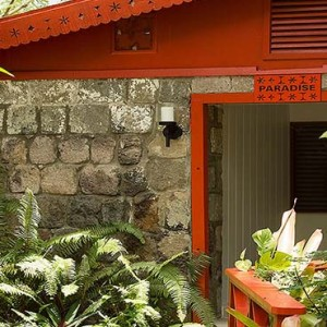 Golden Rock Inn - Luxury Nevis Honeymoon Packages - paradise exterior