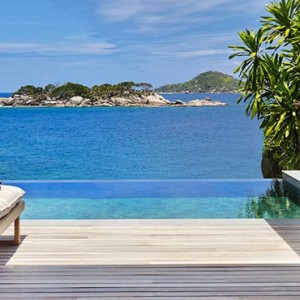 Hideaway pool villa - six senses zil pasyon - luxury seychelles honeymoon packages