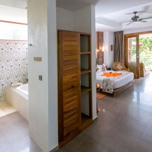 Honeymoon Suite 2 - le duc de praslin - luxury seychelles honeymoon packages