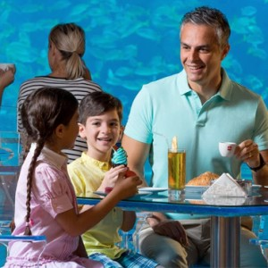 Illy Cafe - Atlantis The Palm dubai - Luxury dubai honeymoon packages