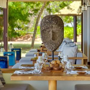 Island Cafe - six senses zil pasyon - luxury seychelles honeymoon packages