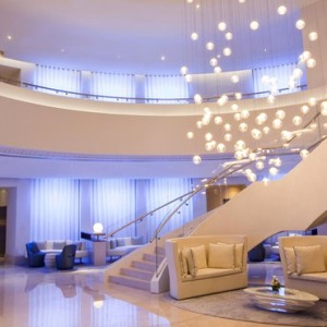 Lobby - JA Ocean View Hotel - Luxury Dubai honeymoon packages