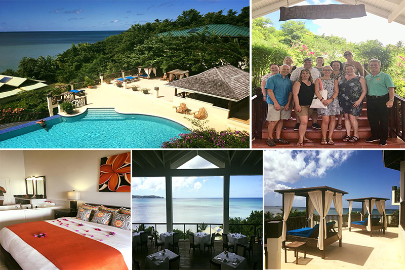 Natasha shares her experiences - St Lucia honeymoons - Calabash Cove - location