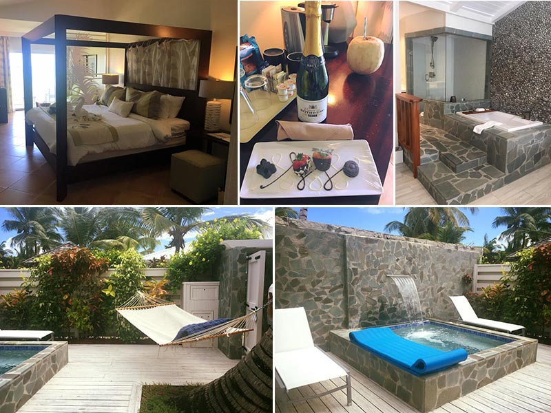 Natasha shares her experiences - St Lucia honeymoons - Coconut bay beach resort - rooms1
