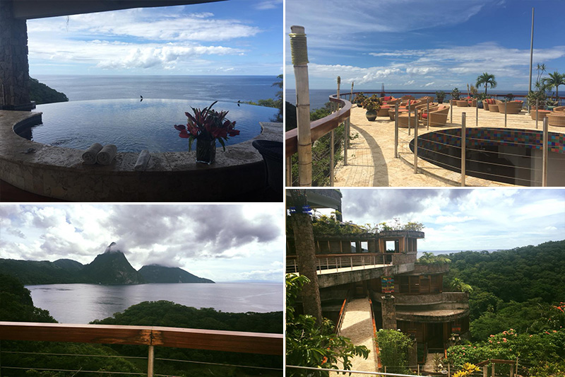 Natasha shares her experiences - St Lucia honeymoons - Jade Mountain - location